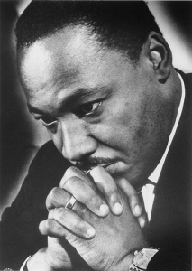 Martin Luther King, Jr. Praying