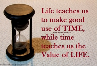The Value of Our Time