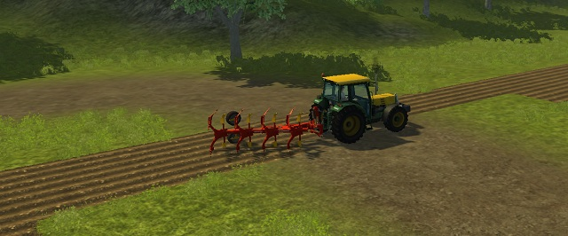 Cultivating the fields