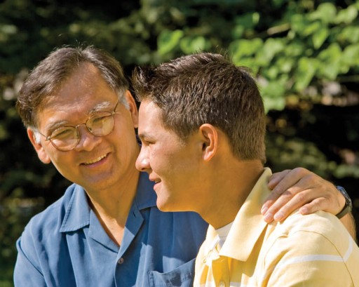 Mormon Father and Son