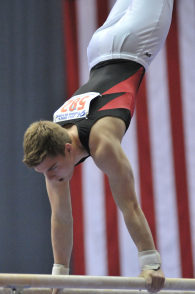 A,J, Beal Gymnast Mormon