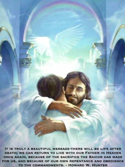 Heavenly Father Welcoming His Son Home