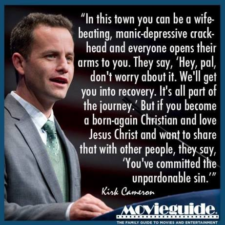 Kirk Cameron on Being a Christian