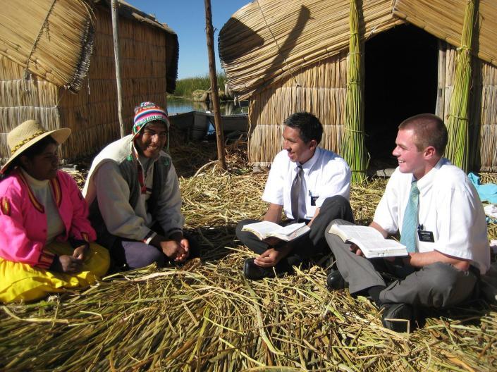 Mormon Missions Teaching Gospel