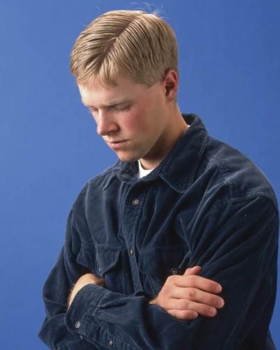 Mormon Young Man Praying