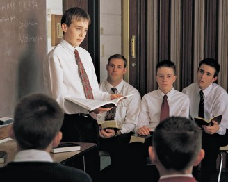 Mormon Youth Teaching
