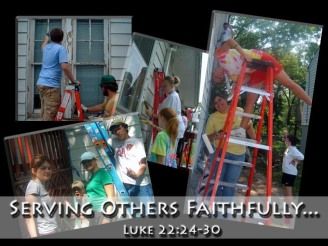 Serving One Another Faithfully
