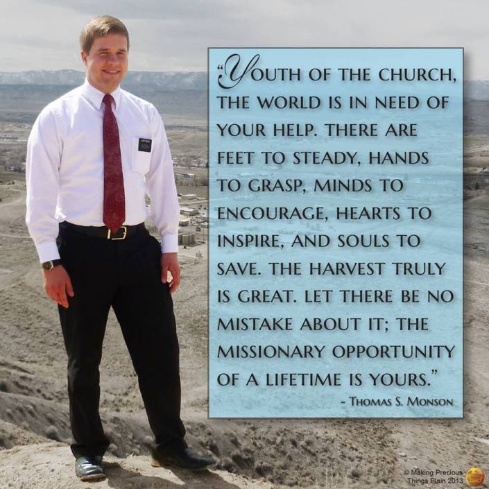 The World is in Need of More Missionaries