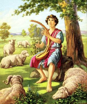 The shepherd boy, David