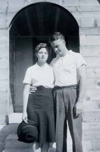 Grandma and Grandpa Adams