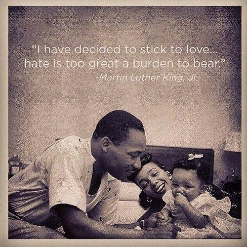 Martin Luther King Jr. - Love not Hate