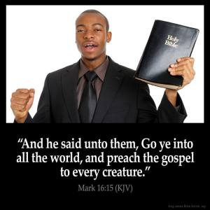 Praech the Gospel