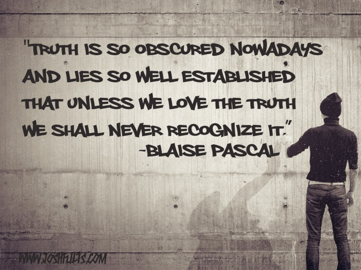 Blaise Pascal - Truth