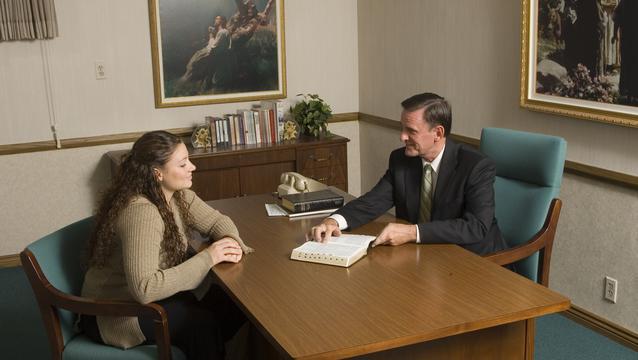 Mormon Bishop Counseling A Member