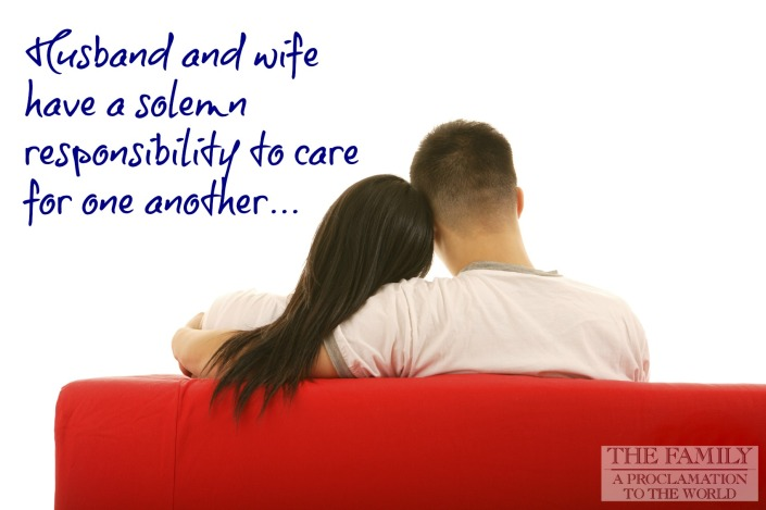 Husbands and Wives Care For One Another
