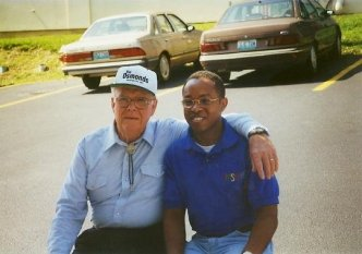 Keith L. Brown and George Virl Osmond Sr.