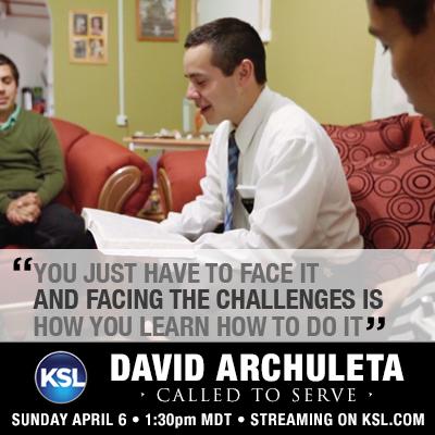 David Archuleta - Called to Serve