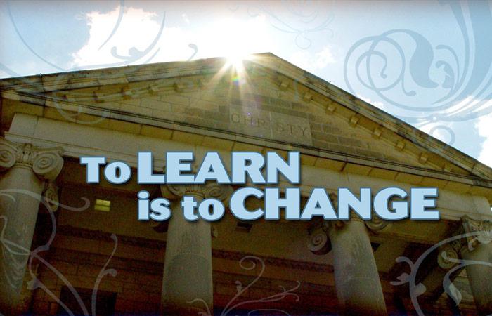 To Learn iIs To Change