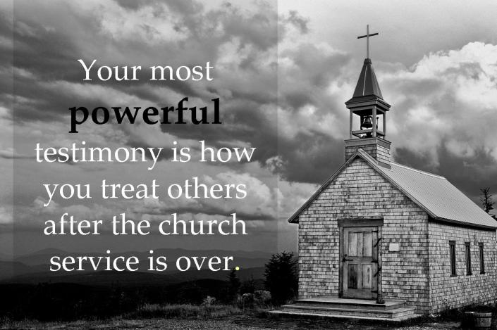 Your Most Powerful Testimony
