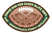 Ken Niumatalolo Family Football Patch