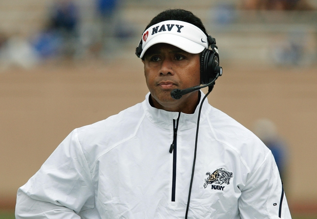 Ken Niumatalolo Head Coach Navy