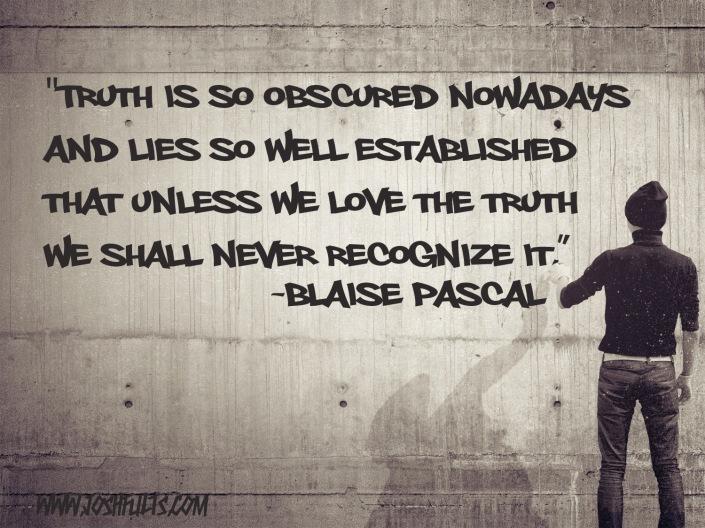 Blaise Pascal Truth