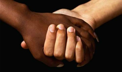 Interracial Couples Holding Hands