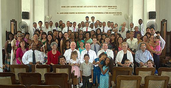 Nicaragua LDS Church Congregation