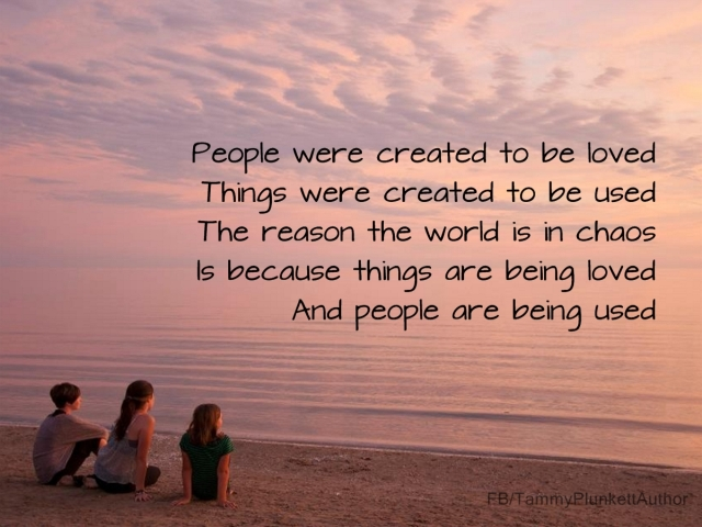 Using Things and Loving People