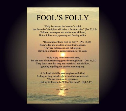 Fool's Folly