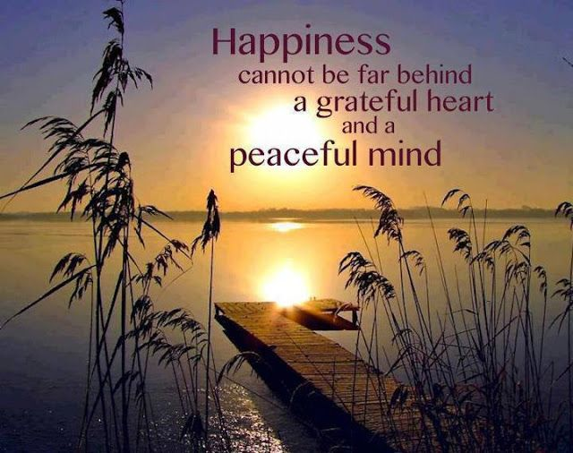 Happiness and a Peaceful Mind