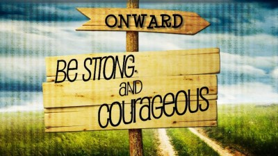 Onward with Courage