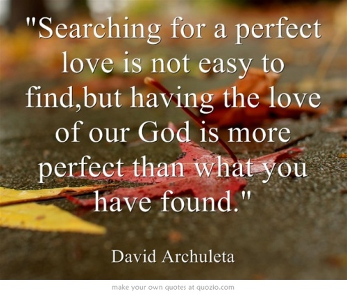 Searching For a Perfect Love