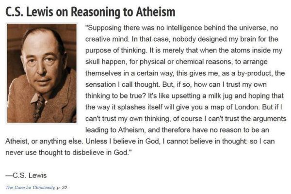 C.S. Lewis on Atheism