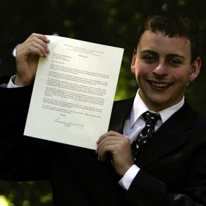 LDS Young Man receives mission call
