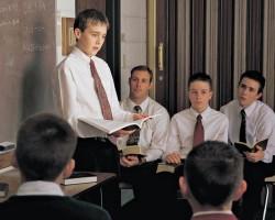 Mormon Youth Teaching Gospel Principles