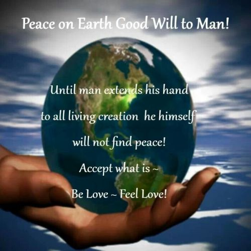 Peace on Earth, Goodwill to All Men